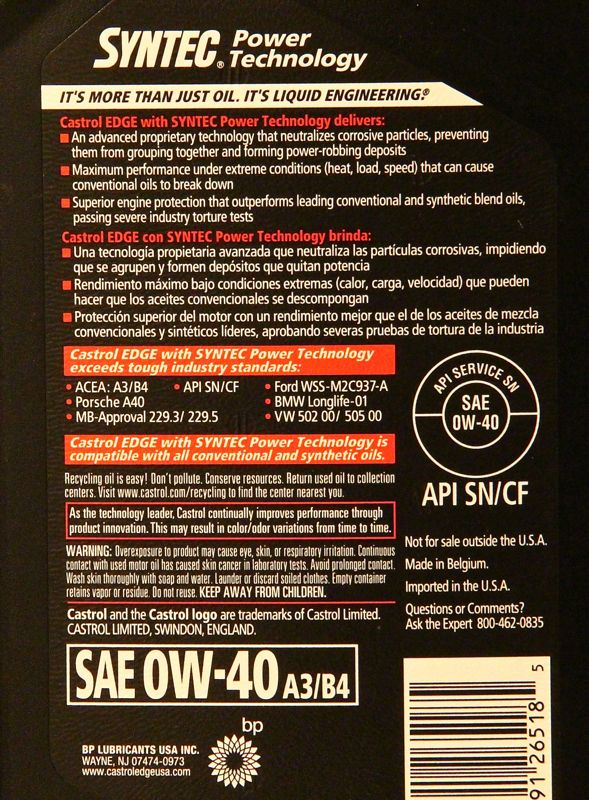 Name:  Castrol_edge_synthetic_0W-40_label_specifications.jpg Views: 355 Size:  151.3 KB