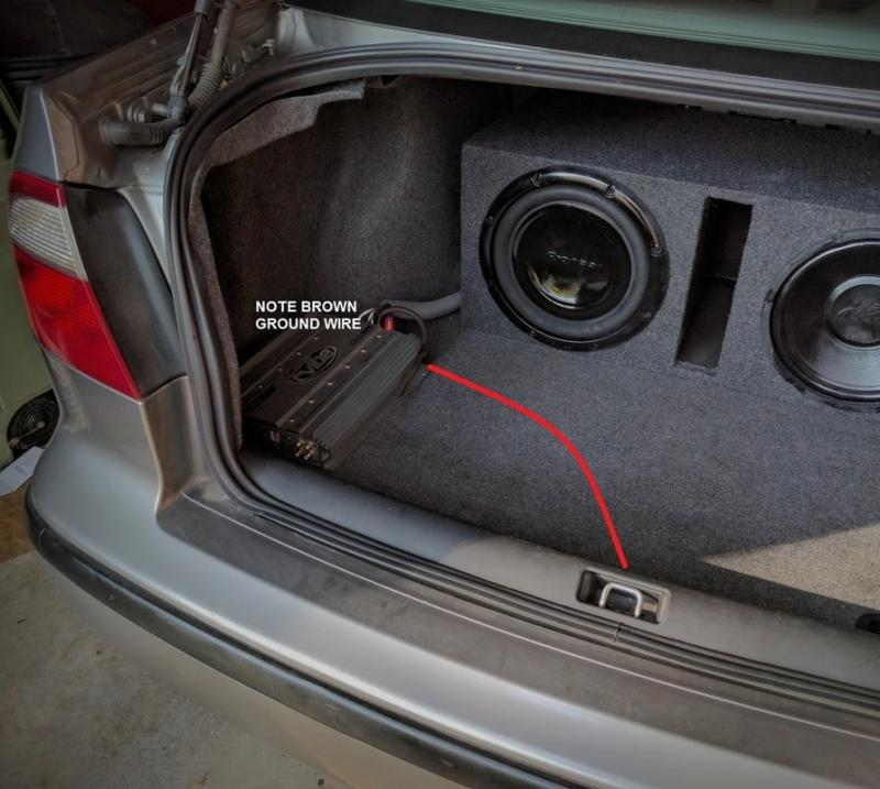 best way to install subwoofers in car