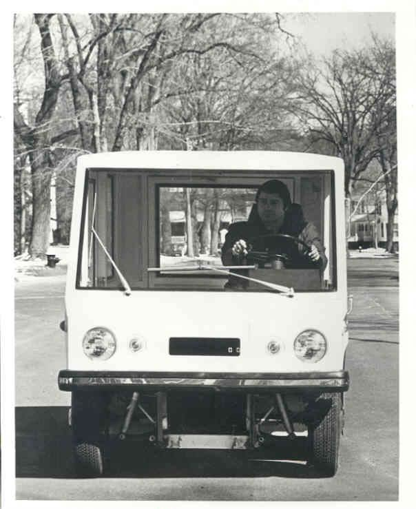 1973 Electromotion TSL T3 Electric Van Truck 2