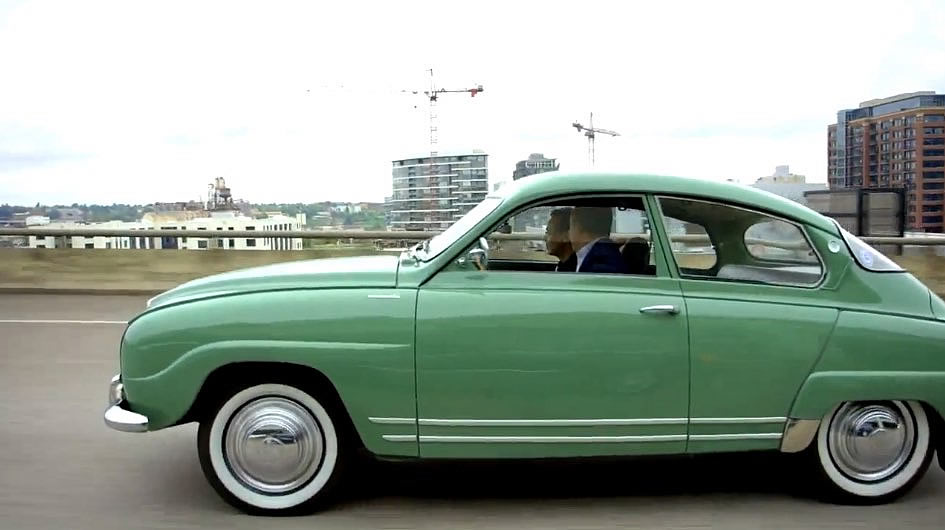 1956 Saab 96 Monte Carlo 850 Green - 5