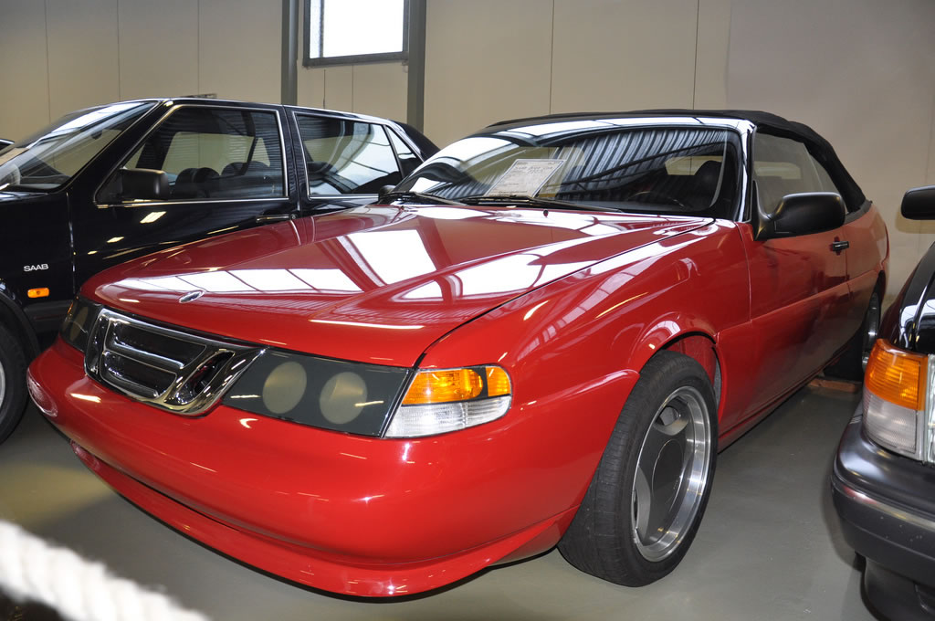 1989 Saab 9000 Convertible Fivebow Concept - SaabWorld