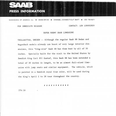 king-size-saab-press-release