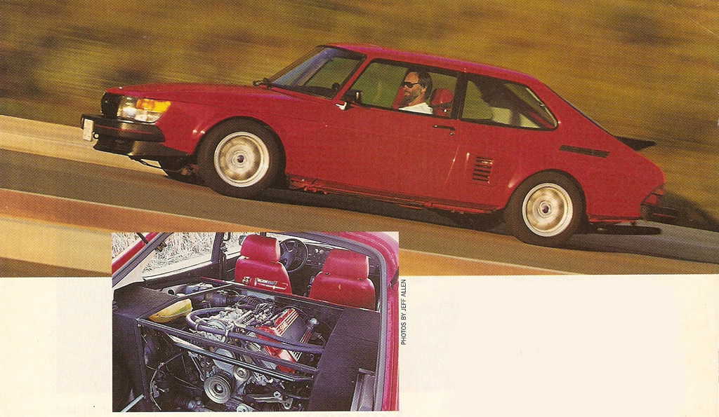 Saab 900 RWD - Swapping Ends - Ove Hasselberg - SaabWorld