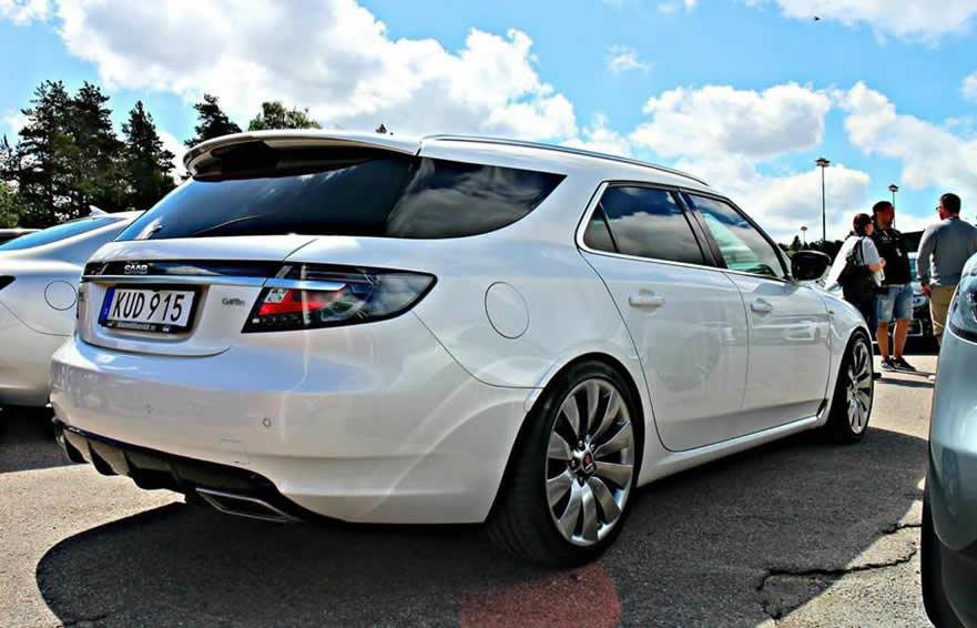 2010 Saab 9 5 Sedan To Sportcombi Conversion