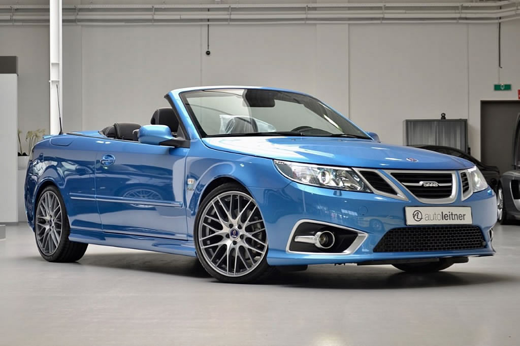 2017 Saab 9 3 Aero Convertible Sky Blue Edition