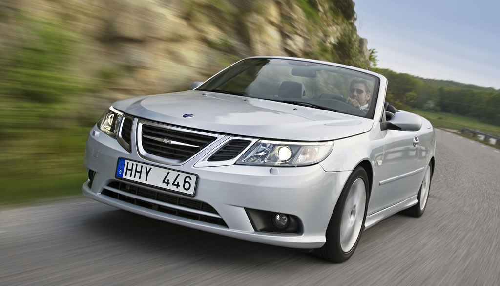 2008 Saab 9-3 Convertible - Press