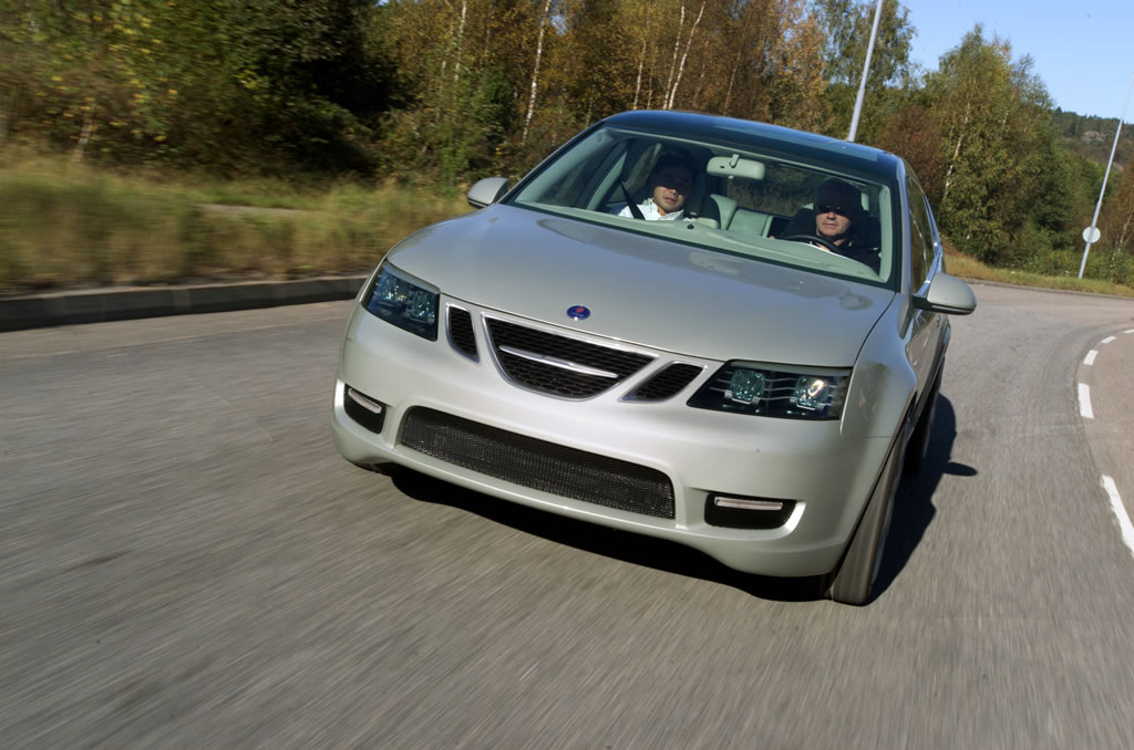 Press Release By Saab Automobile September 2003